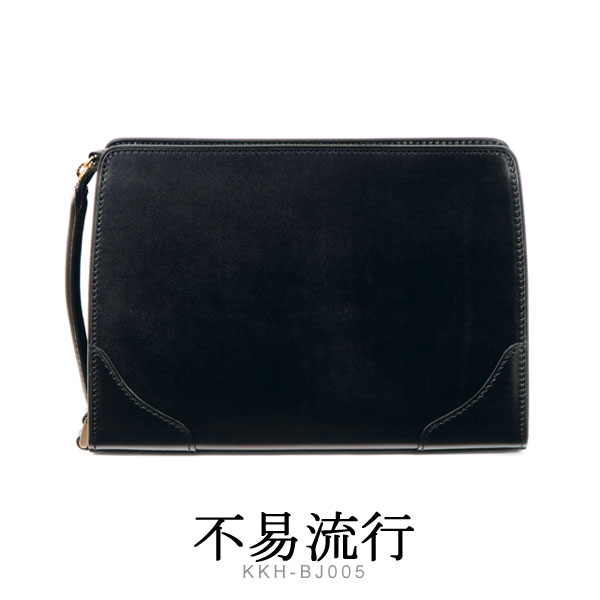 國鞄 コクホー 国産最高級皮革鞄 不易流行 国産ピットヌメ牛革 セカンドバッグ KKH-BJ005