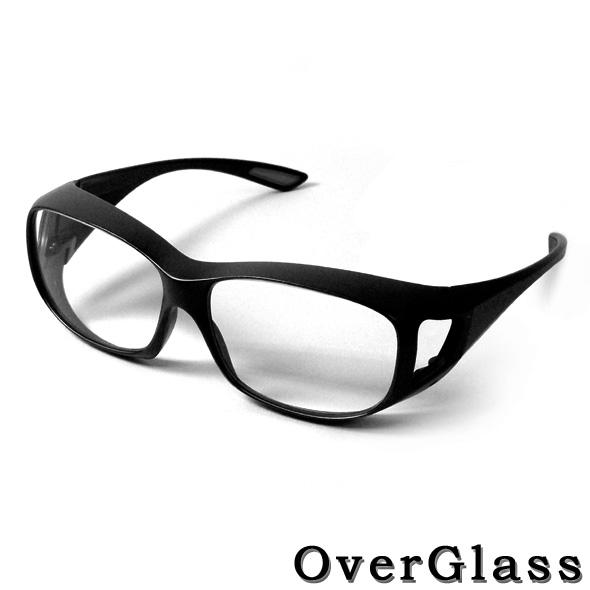 オーバーグラス拡大鏡 眼鏡タイプ 【マラソン201407_送料込み】