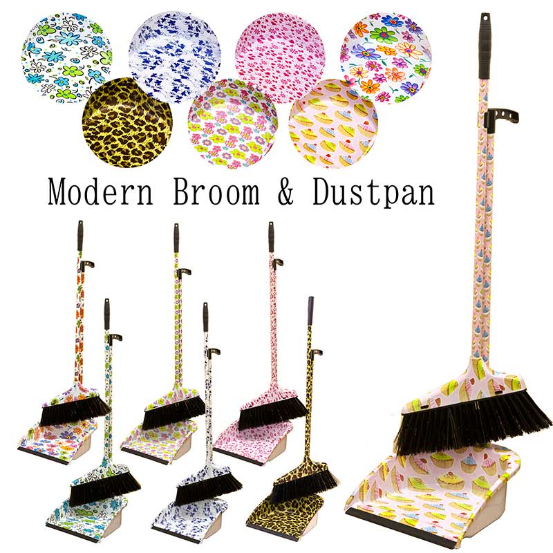 I show cute broom dustpan set modern bloom & dustpan fashion
