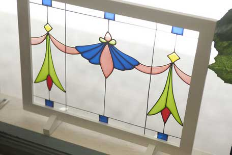 lifestyle-ec: I show cute stained glass plate fashion frame ...