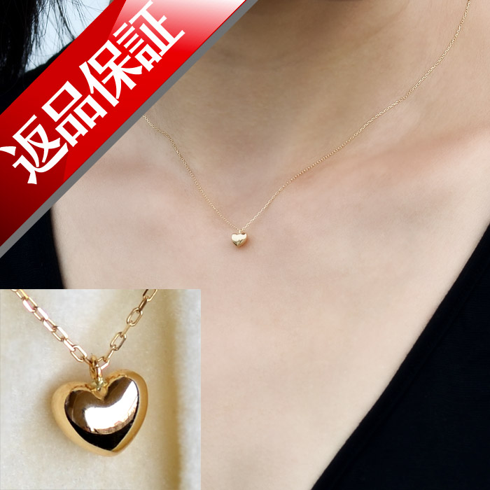 Lilimia rakuten global market japan made heart necklace heart japan made heart necklace heart pendant ladies skin j jewelry jewelry for women gift high quality first jelly skin j jewelry birthday necklace 18 k gold k18 aloadofball Image collections