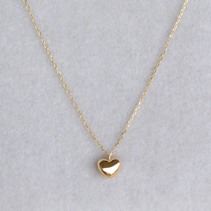 39c231ef097f Japan-made Heart Necklace heart pendant ladies skin j jewelry jewelry for  women gift high quality first jelly skin j jewelry birthday necklace 18 k  gold K18 ...