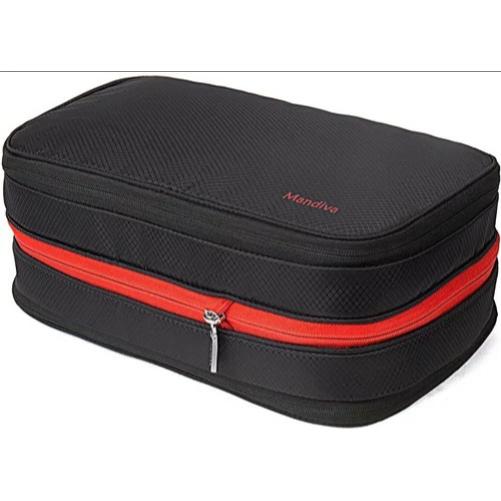 便利旅行圧縮 衣類収納圧縮バッグ Mandiva 新生活 便利旅行圧縮バッグ mand-sn0012 サイズ:9L ファスナー圧縮スペース50%節約 高価値