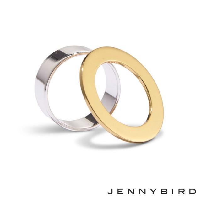 スーパーセール!10%オフ!【JENNY BIRDジェニーバード】Carmine Ring Set リング セット シルバー ゴールド