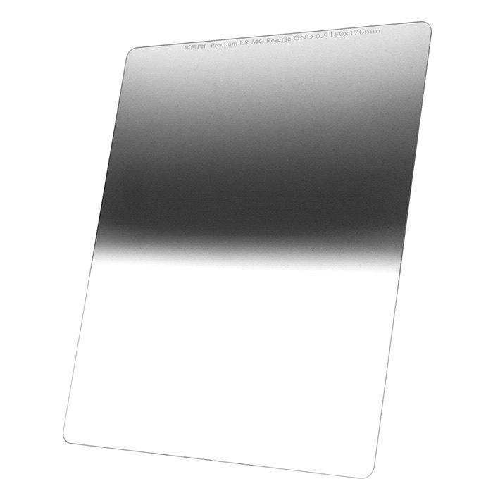 世界最高を目指したリバースハーフND8フィルター 購入 150mm幅 KANI 角型フィルター 内祝い ハーフND8 プレミアム 角形 150x170mm レンズフィルター リバースGND 減光効果:最大3絞り分 0.9