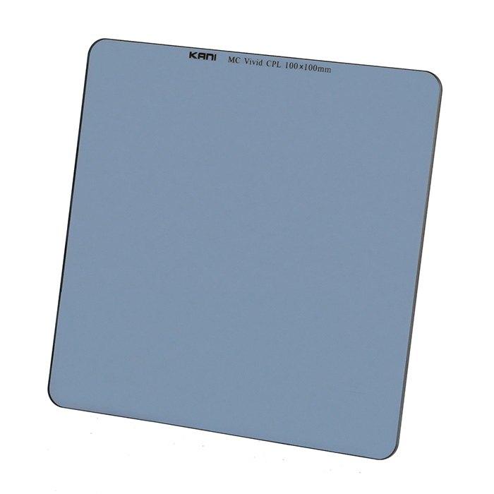 風景のグリーンや海のブルー等をより鮮やかに演出 KANI 角型フィルター プレミアムビビッドサーキュラーPL 人気ブランド多数対象 海外並行輸入正規品 100x100mm PLフィルター CPL 円偏光 レンズフィルター 角形