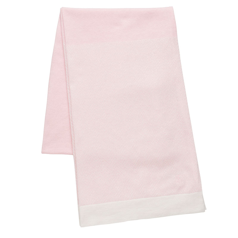 fabuloustyle ファビュラスタイル 綿カシミヤ ヘリンボーンストール