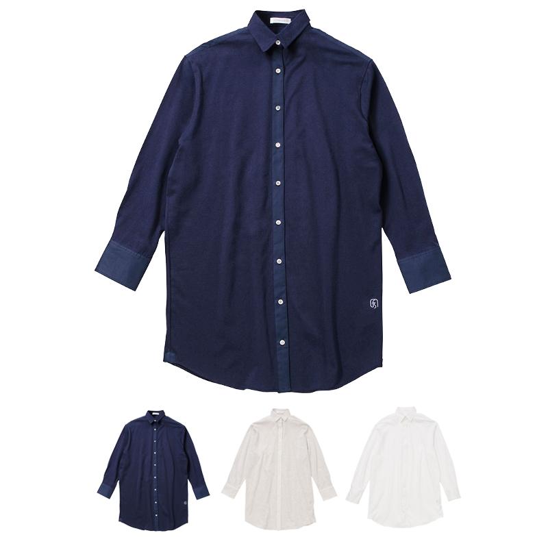 fabuloustyle ファビュラスタイル 度詰天竺 レディースシャツパジャマ