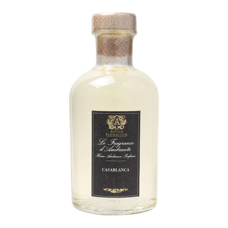 天然エッセンシャルオイル使用陶酔感に満ちたカサブランカリリーそのものの香りアメリカの人気フレグランスブランド【アンティカファルマシスタ】フレグランスディフューザー(カサブランカ)500mlルームフレグランスディフューザー