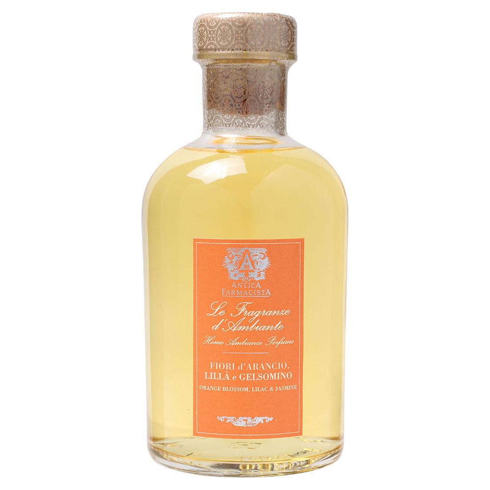 送料無料!天然エッセンシャルオイル使用フレッシュなオレンジがさわやかにお部屋に広がるアメリカの人気フレグランスブランド【アンティカファルマシスタ】フレグランスディフューザー(オレンジブロッサム・ライラック・ジャスミン)500ml