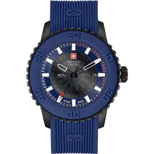 スイスミリタリー 腕時計 トワイライト メンズ ネイビー/ブラック/ネイビー ML417 SWISS MILITARY TWILIGHT 安心の正規品 代引手数料無料 送料無料
