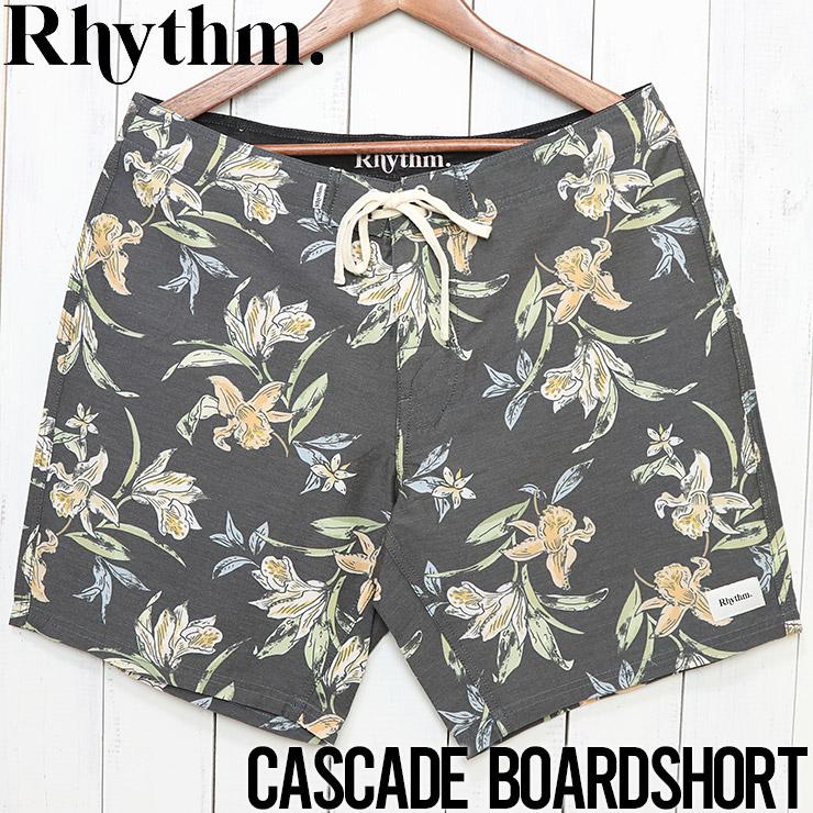 [クリックポスト対応] Rhythm リズム CASCADE TRUNK ボードショーツ OCT19M-TR09