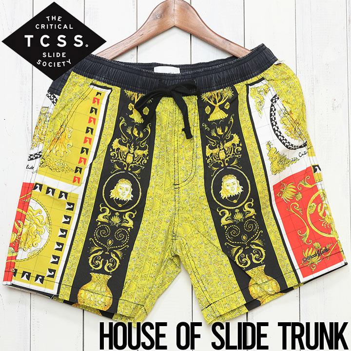 [クリックポスト対応] TCSS ティーシーエスエス HOUSE OF SLIDE TRUNK BOARD SHORT ボードショーツ BS1965