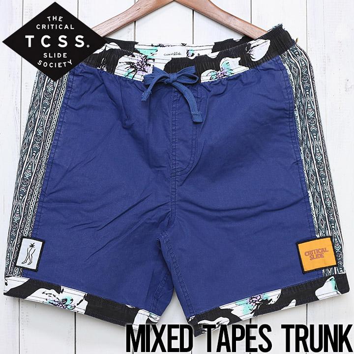 [クリックポスト対応] TCSS ティーシーエスエス MIXED TAPE TRUNK BOARD SHORT ボードショーツ BS1953
