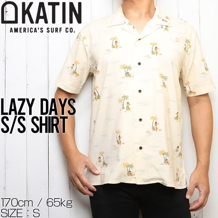 KATIN ケイティン LAZY DAYS S/S SHIRTS 半袖シャツ WVLAZ06