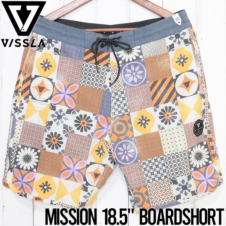VISSLA ヴィスラ MISSION 18.5 BOARDSHORT ボードショーツ M110PMIS