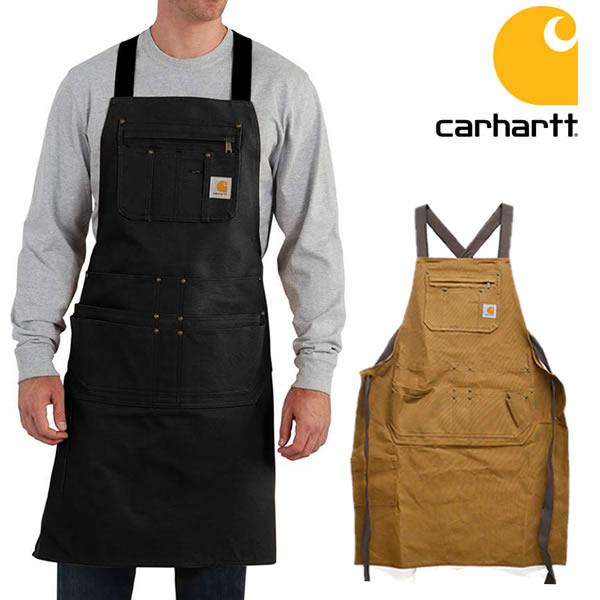 カーハート/carhartt 102483(103439) Firm Hand Duck Apron ダックエプロン BROWN エプロン ポケット 大工 作業着 DIY Brown 前掛け つなぎ【あす楽】