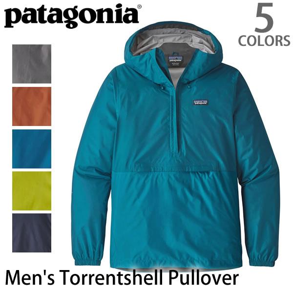 パタゴニア/patagonia/メンズ・トレントシェル・プルオーバー Men's Torrentshell Pullover 83932 メンズ アウター トレントシェル プルオーバー レギュラーフィット 防寒 雨具 レインコート 登山 フード/あす楽/送料無料