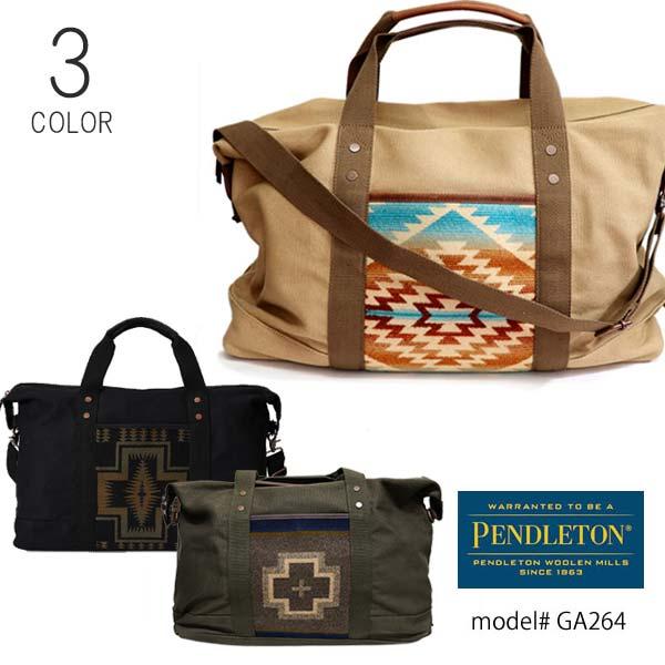 ペンドルトン/PENDLETON/GA264 2way ボストンバッグ WEEKENDER ショルダーバッグ ネイティブ柄 大容量 旅行 コットン 鞄 ペンデルトン BAG/あす楽