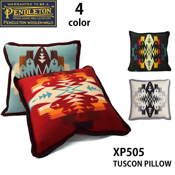 ペンドルトン/PENDLETON/TUSCON PILLOW XP505 ネイティブ柄 ピロー クッション チマヨ柄 プレゼント ペンデルトン/あす楽