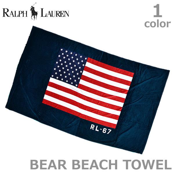 ポロ ラルフローレン /POLO RALPH LAUREN/611680910 BEACH TOWEL ビーチ バス タオル 出産祝い ギフト プレゼント アメリカ国旗 ベビー キッズ/あす楽