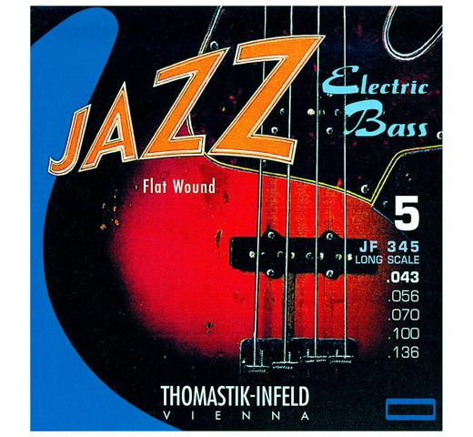 【海外輸入】 [Thomastik-Infeld] Jazz Electric Bass JF345 Long Scale 34
