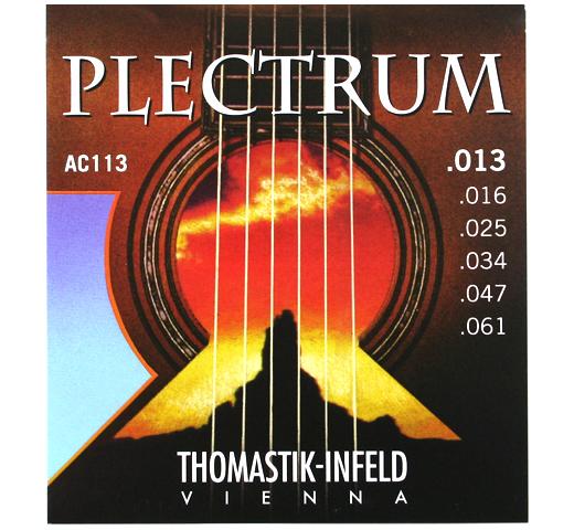 トマスティック インフェルト 定価の67%OFF プレクトラム アコースティック ギター弦 .013-.061 セール特価 Thomastik-Infeld AC113 PLECTRUM