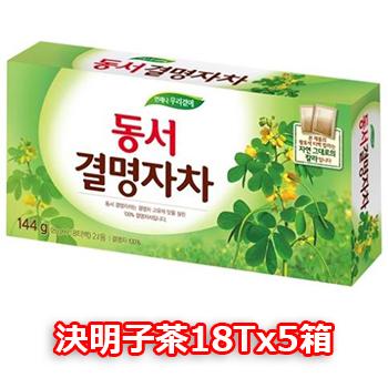 東西 決明子茶 18T 5個 ティーバッグ タイプ 韓国 お茶 ダイエット茶 健康茶 キョルミョンジャ