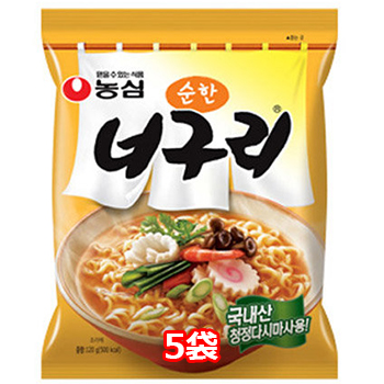 農心 ノグリラーメン 甘口 5個 韓国料理 インスタントラーメン 韓国 チープ ラーメン ノグリうどん 韓国土産 高品質