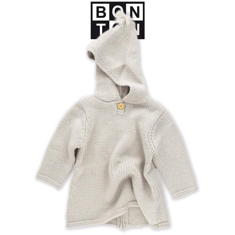 BONTON【ボントン】ベビー 小人ニットコート BONTON ベビー コート bonton ボントン 小人コート 2018 秋冬 ベビー コート フランス 子供服 ベビー キッズ