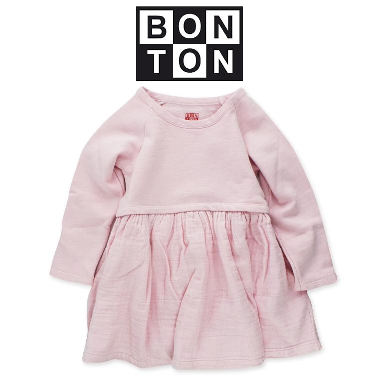 BONTON【ボントン】キッズ ワンピース 4A【4歳】6A【6歳】 BONTON ワンピース bonton ボントン 2018 秋冬 フランス 子供服 ベビー キッズ