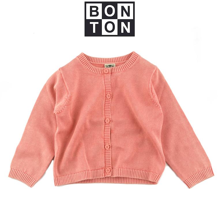 BONTON ご予約品 2021春夏 ボントン ベビー 送料無料お手入れ要らず 12M bonton カーディガン 1歳
