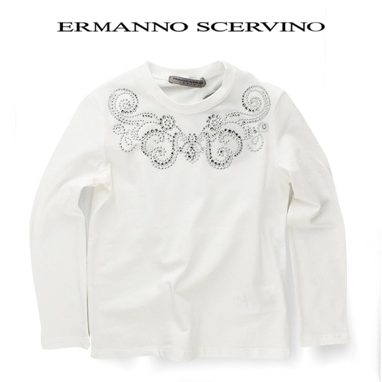 ERMANNO SCERVINO junior 【エルマンノ シェルビーノ ジュニア】カットソー 10A【10歳】12A【12歳】14A【14歳】子ども scervino