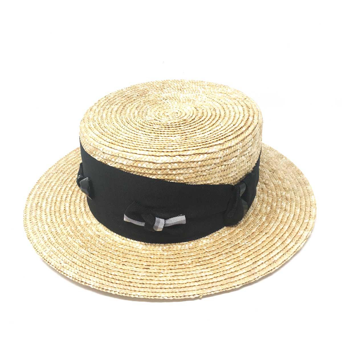 バラ色の帽子 Barairo no Boushi ミックスリボンキャノチェ / クロ