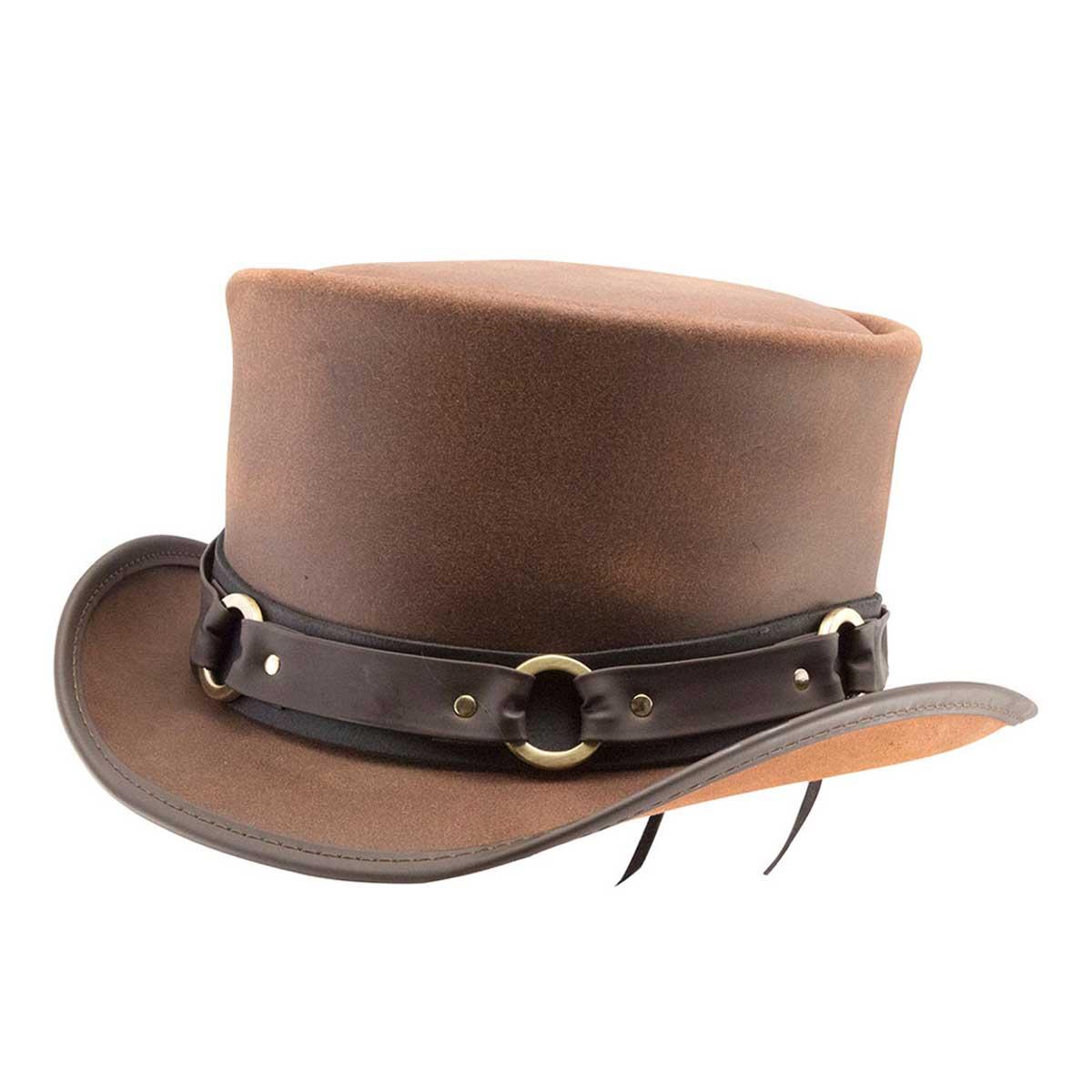 スチームパンク 帽子 HEAD'N HOME El Dorado SR2/BROWN