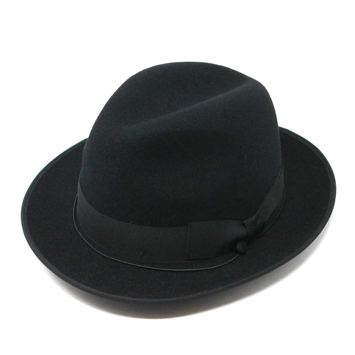 SORBATTI ソルバッティ ゴム紐飾り中折れ ブラック