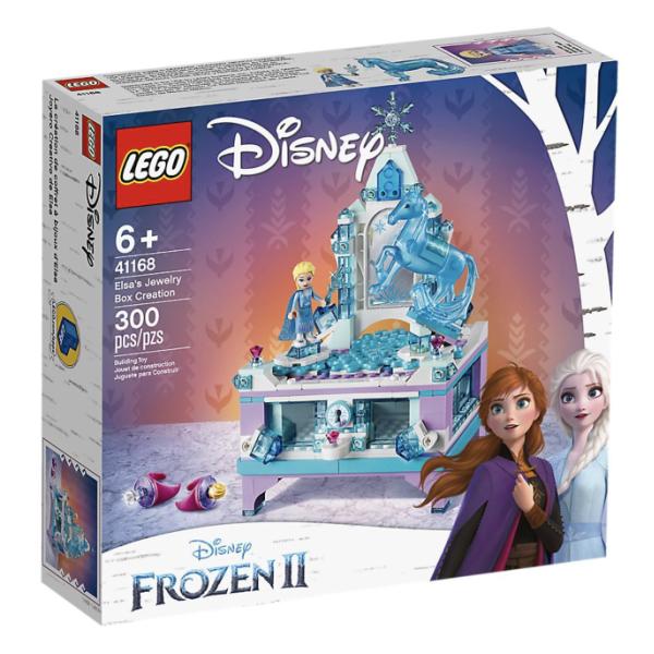 レゴジャパン アナと雪の女王 2 エルサのジュエリーボックス LEGO レゴ ディズニープリンセス 誕生日 クリスマス プレゼント 女の子 小学生 子供 おもちゃ ギフト クリスマス ブロック 玩具 入園祝い 入学祝い 6歳 7歳 8歳 9歳 10歳 11歳 12歳 41168