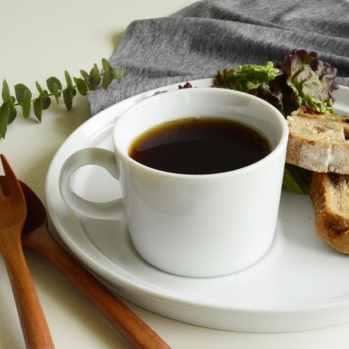 カップ コーヒーカップ 紅茶 マグ 白 蔵 新品 シンプル おしゃれ Brunch ブランチ カップのみ マグカップS ※ソーサー別売り 175cc ティーカップ ホワイト