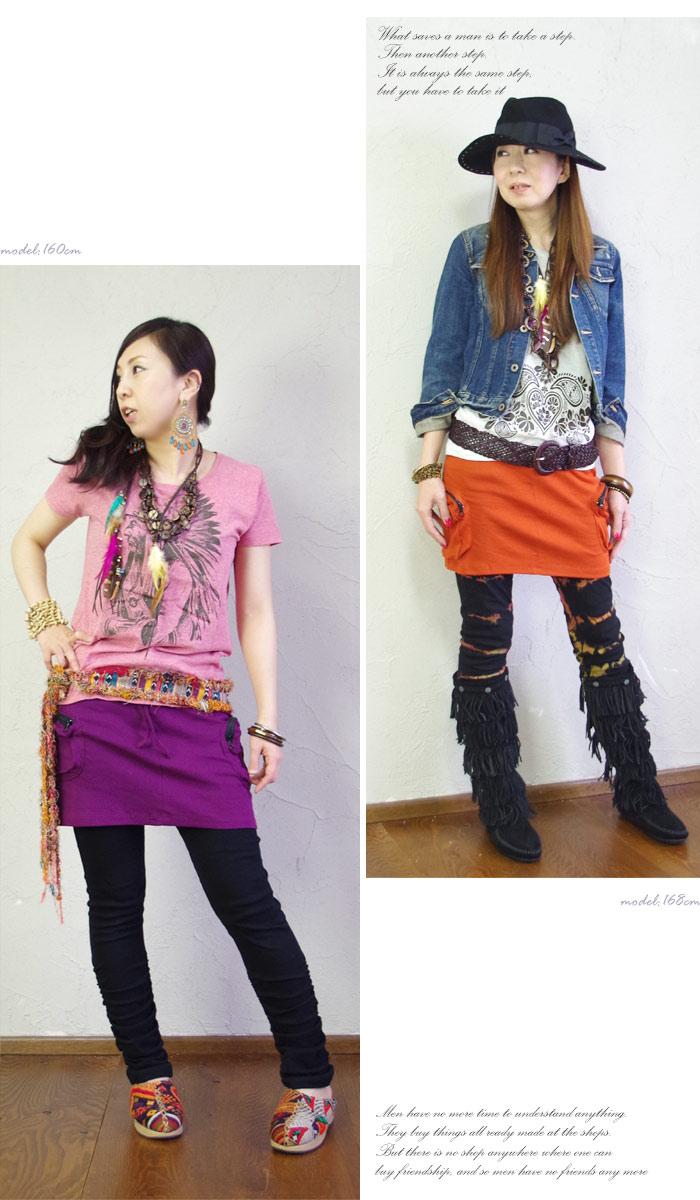 Simple Pocket カーゴミニ skirt fs3gm