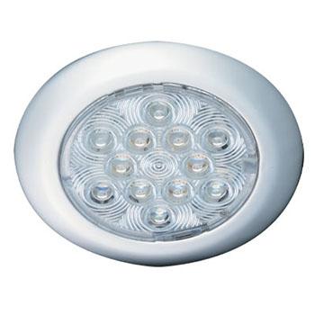 薄型LEDインテリアライトステンレス12VDC3W ホワイト