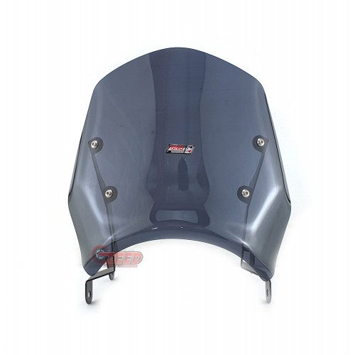 店舗 クリアランスsale 期間限定 バイクカスタムパーツ取り寄せ品 送料無料 国内在庫あり ホンダ ハンターカブ CT125 ウインドシールド CT125-snb-meter-visor