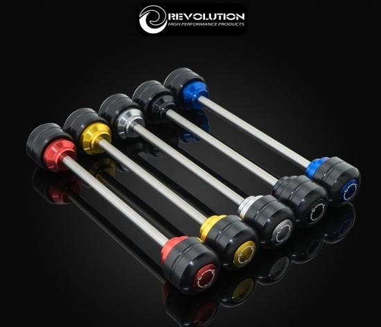 バイクカスタムパーツ取り寄せ品 送料無料 ホンダ フォルツァ 正規認証品!新規格 MF13 Revolution 4年保証 フロント アクスル 5色 V2 スライダー 42010222981