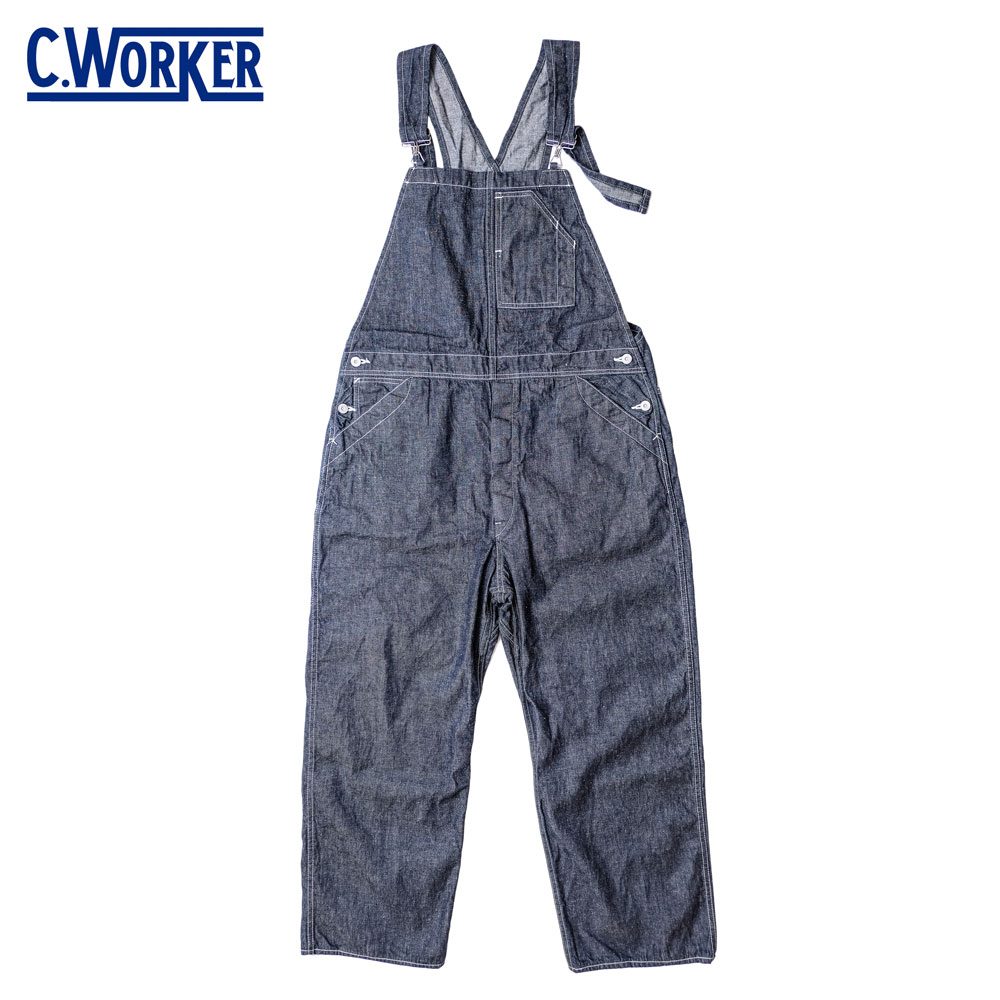 C WORKS シーワークス WEST OVER / BLUE DENIM