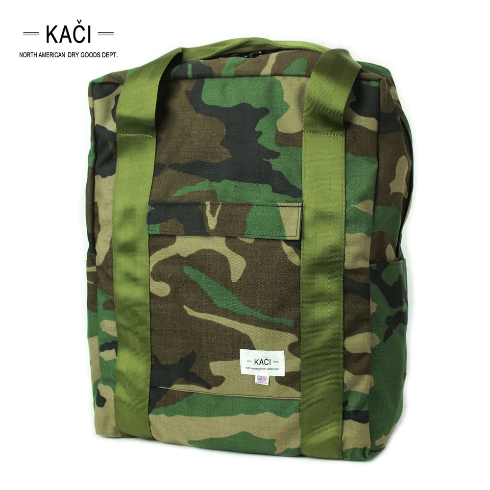 Kaci North American Dry Goods Dept. 2WAY HANDLES / WOODLAND