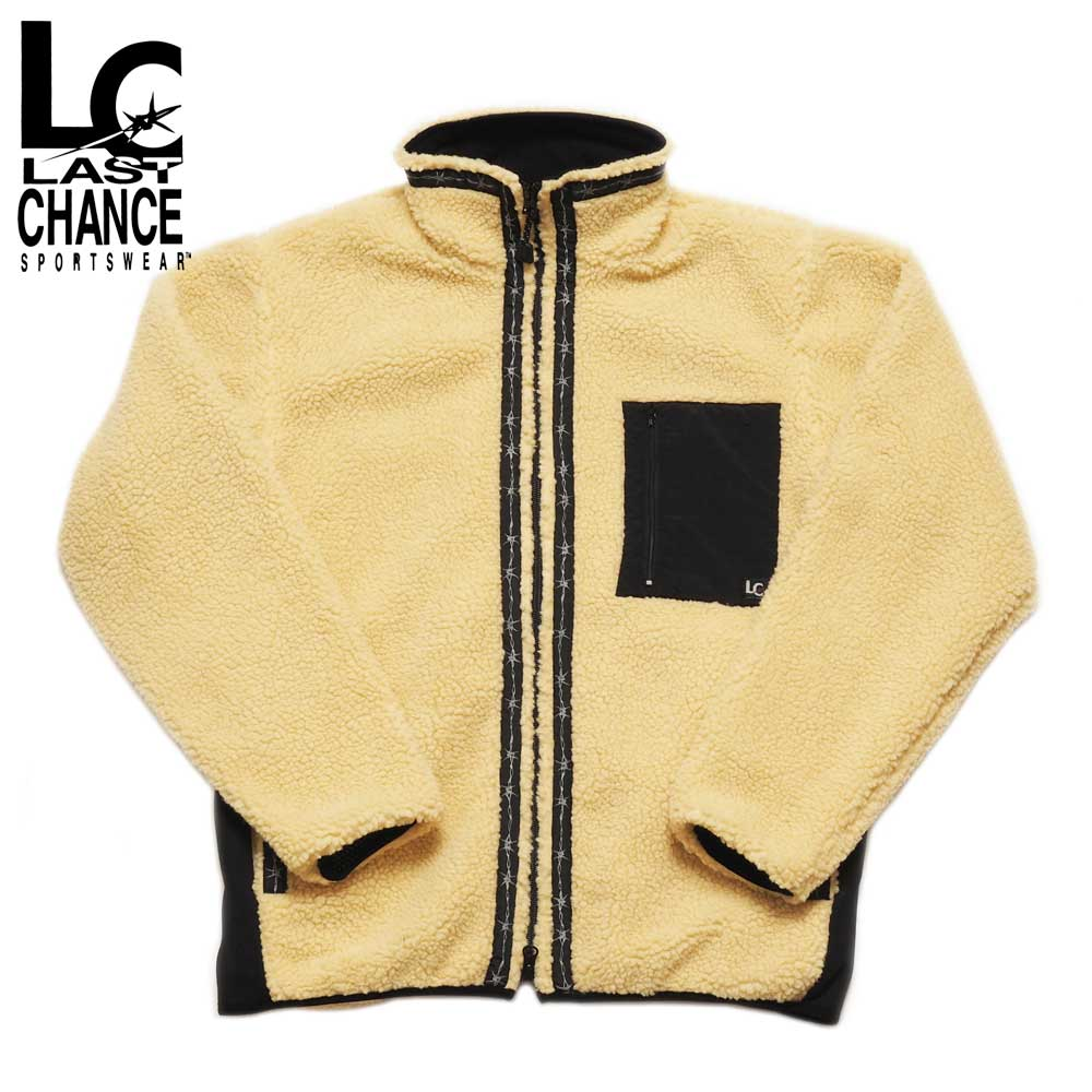 Last Chance ラストチャンス RETRO BOA FULL ZIP JACKET / BEIGE