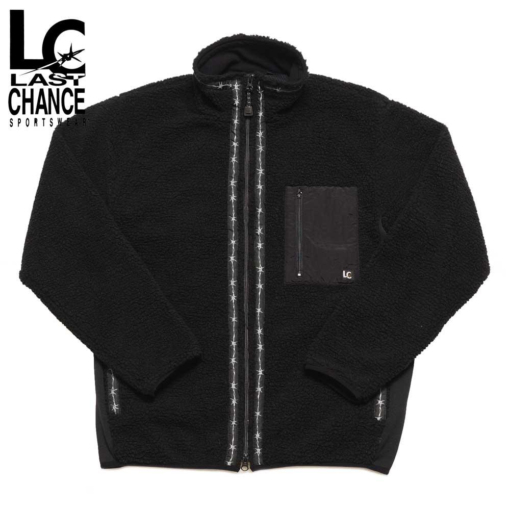 Last Chance ラストチャンス RETRO BOA FULL ZIP JACKET / BLACK
