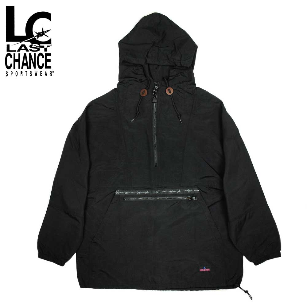 Last Chance ラストチャンス PACKABLE ANORAK PARKA / BLACK