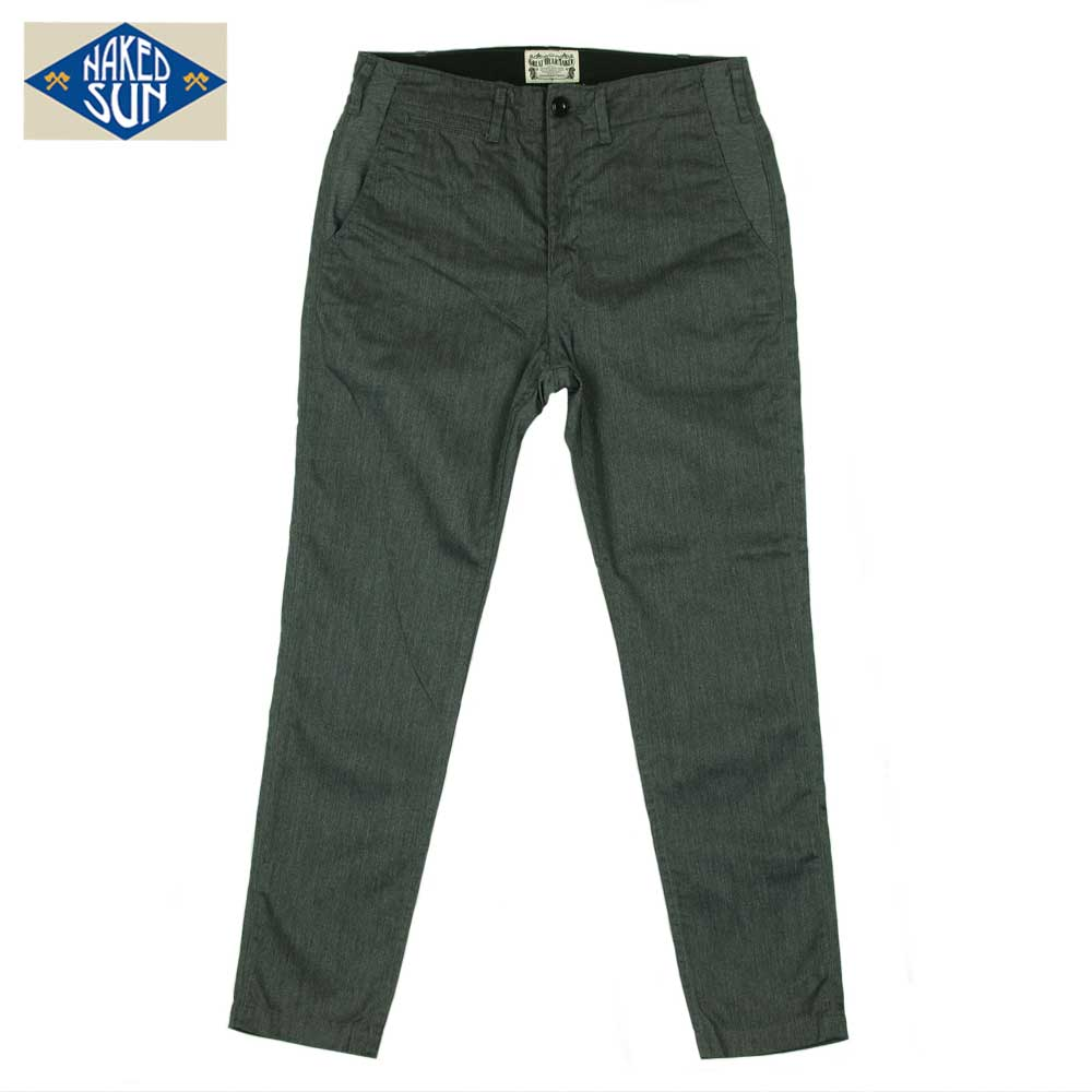 NAKED SUN GENERAL EDGED TROUSERS / GRAY