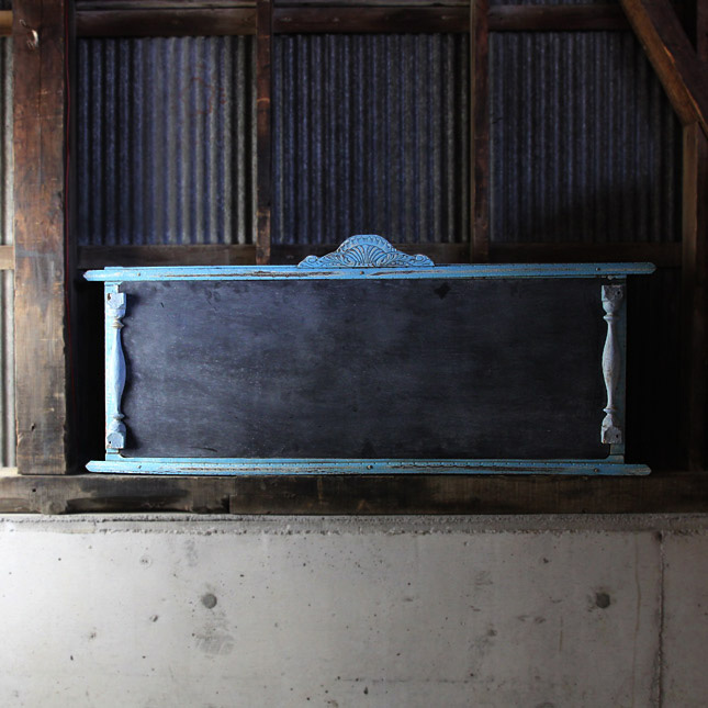 【送料無料】 antique black bord -アンティーク黒板- 【アメリカンアンティーク】【中古】