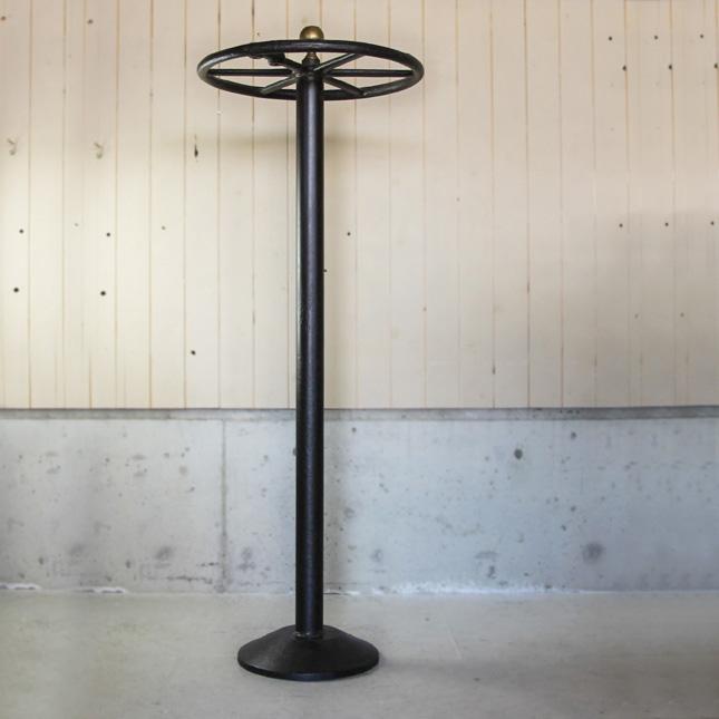 【アメリカンアンティーク】 antique round circle rack 古いラウンドサークルラック 【中古】 家財便 送料別